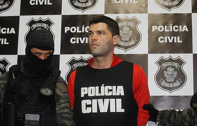 O vigilante Thiago Henrique Gomes da Rocha, 26, foi apresentado pela Polícia Civil do Estado na manhã desta quinta-feira (16)