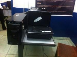 Micro-computador doado à PM de Capinópolis