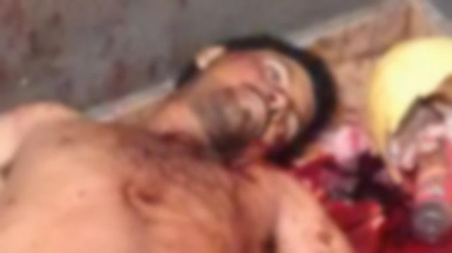 Homem foi esfaqueado por várias vezes / Foto: Reprodução