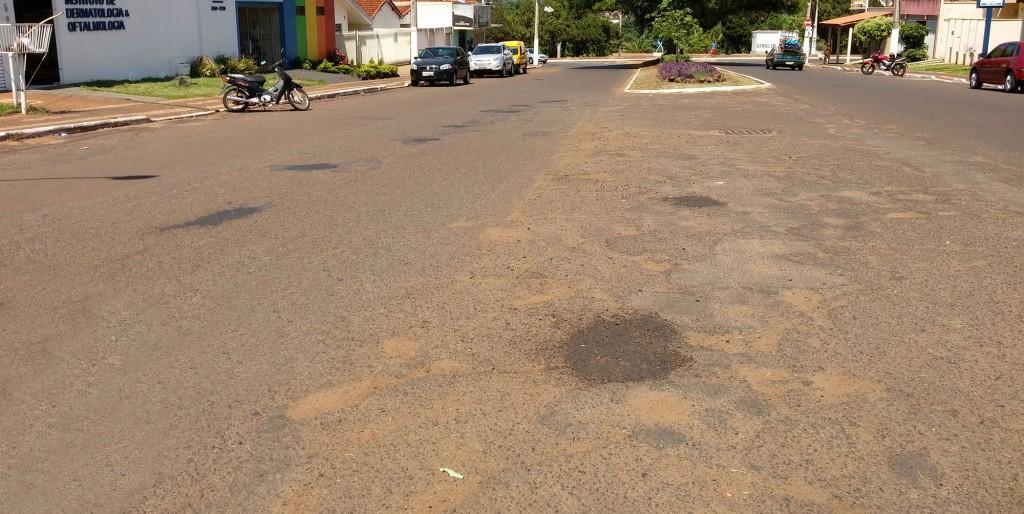 Prefeitura de Ituiutaba continua com a Operação Tapa Buracos