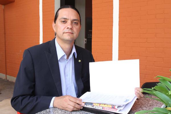 Dos concorrentes a deputado federal, quem teve o maior orçamento foi Weliton Prado (PT). (Foto: Cleiton Borges 10/10/2014)