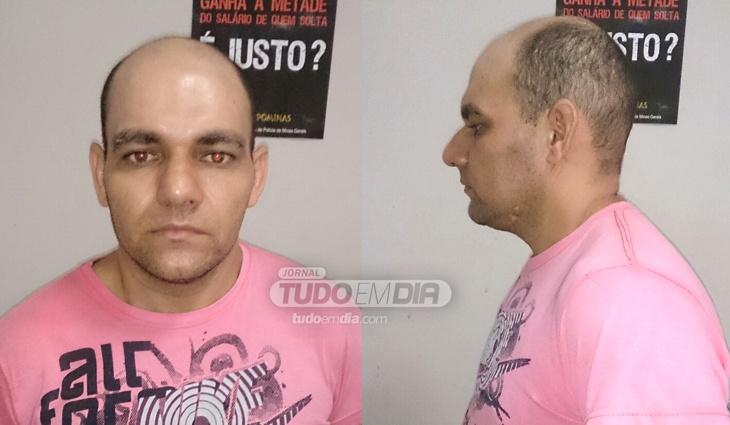 Afonso Pires foi preso em flagrante pela Polícia Civil