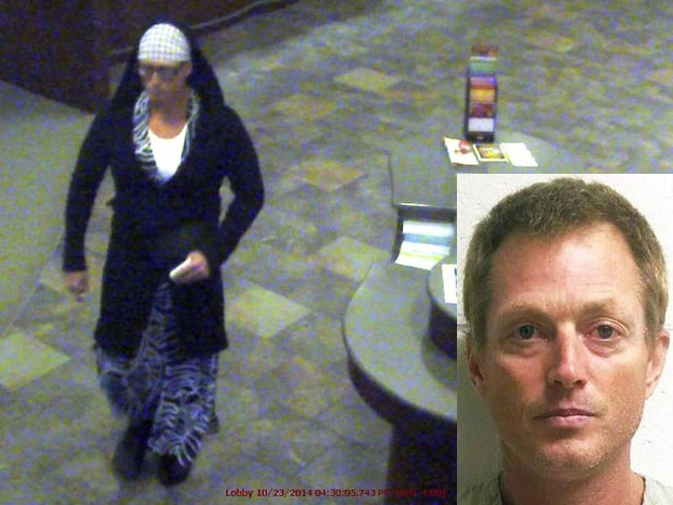 Polícia prendeu ladrão que roubou banco usando vestido com estampa de zebra (Foto: AP)