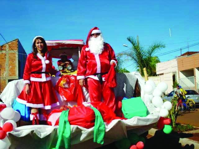 Papai Noel chegará à Zona Rural na próxima semana
