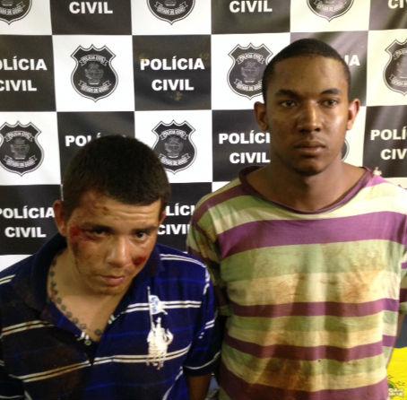 Everton Lino Pereira e Allison de Oliveira