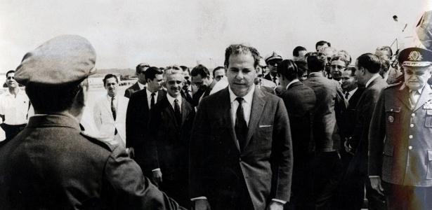 O presidente João Goulart, conhecido como Jango, em 1963