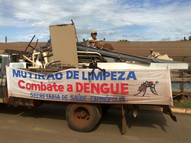 Mutirão de Limpeza começa nesta segunda-feira em Capinópolis