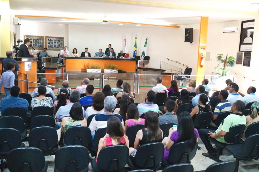 Plenário da Câmara Municipal de Capinópolis / foto: Paulo Braga