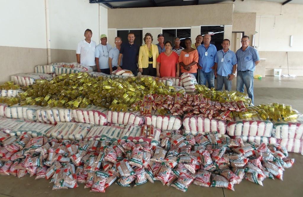 Futebol Contra a Fome garante mais de 10 toneladas de alimentos para entidades de Ituiutaba