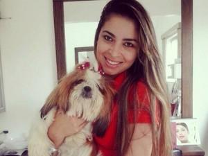 Kesia Freitas foi encontrada morta em Uberlândia (Foto: Reprodução/Facebook)