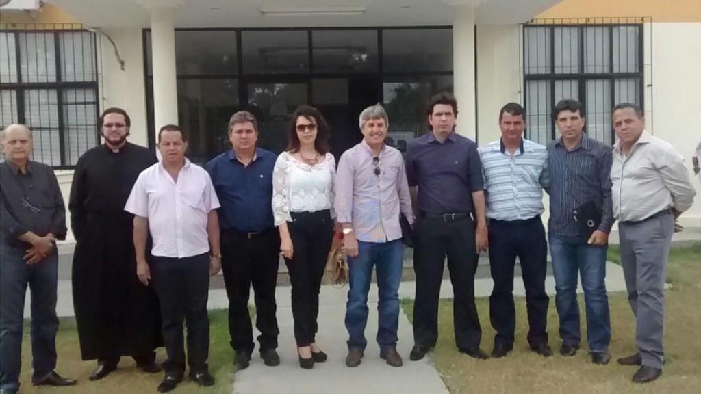 Comitiva mineira foi à Coruripe em Janeiro de 2015 para agilizar processo
