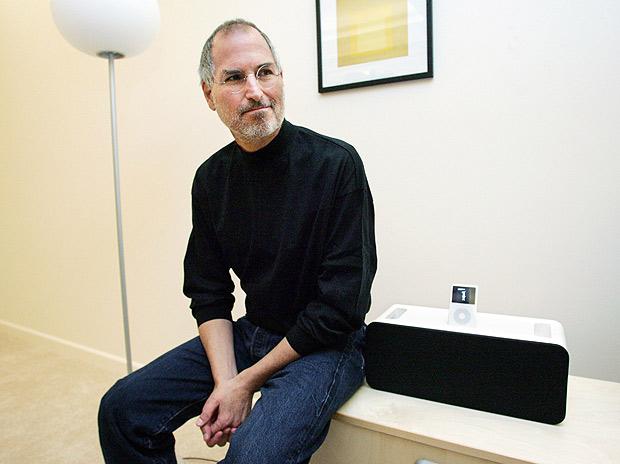 Steve Jobs, então presidente-executivo da Apple, em foto de 2011