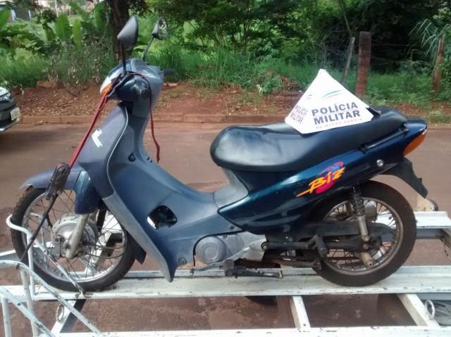 Motocicleta foi repassada por R$ 100 à receptador
