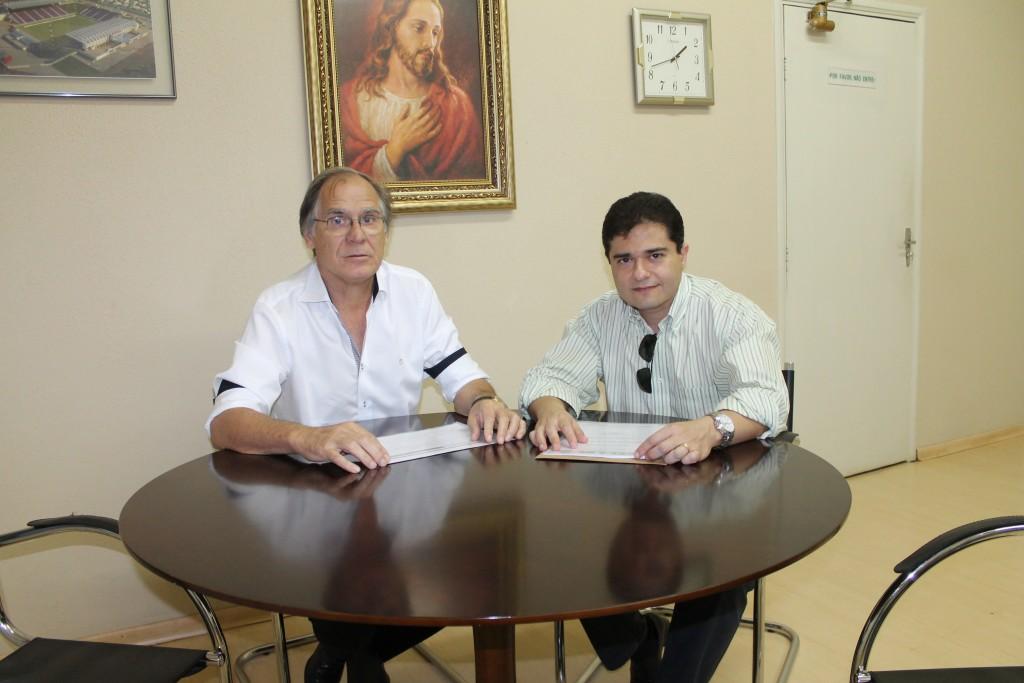 (esq) Luiz Pedro e Luiz Felix