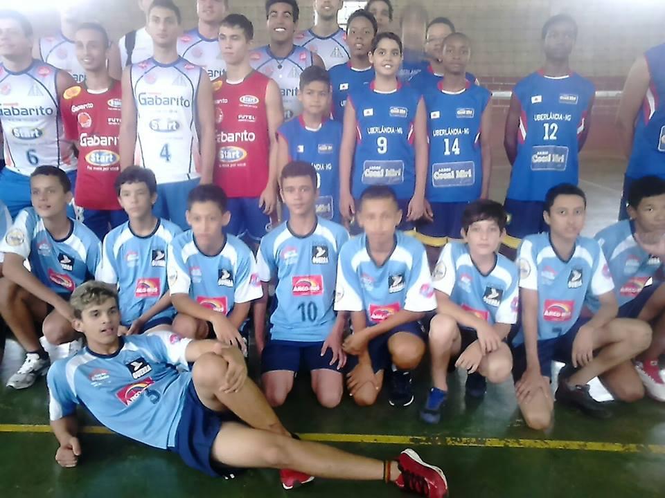 Equipe de vôlei