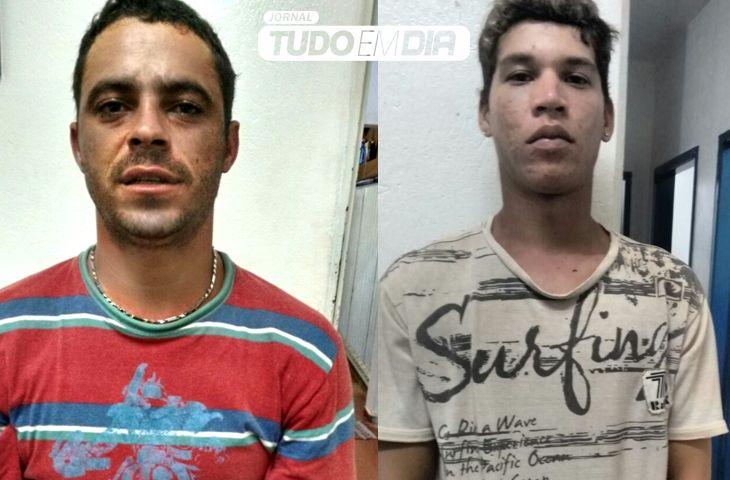 Jovens são suspeitos de tráfico de drogas