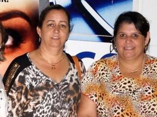 (Esq) Simone Dantas e Ana Cláudia Fonseca