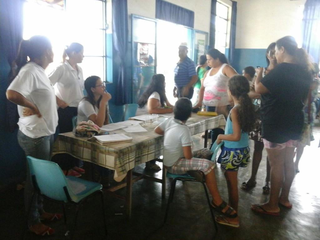 Beneficiários do Bolsa Família participam de evento da Secretaria de saúde nesta quinta