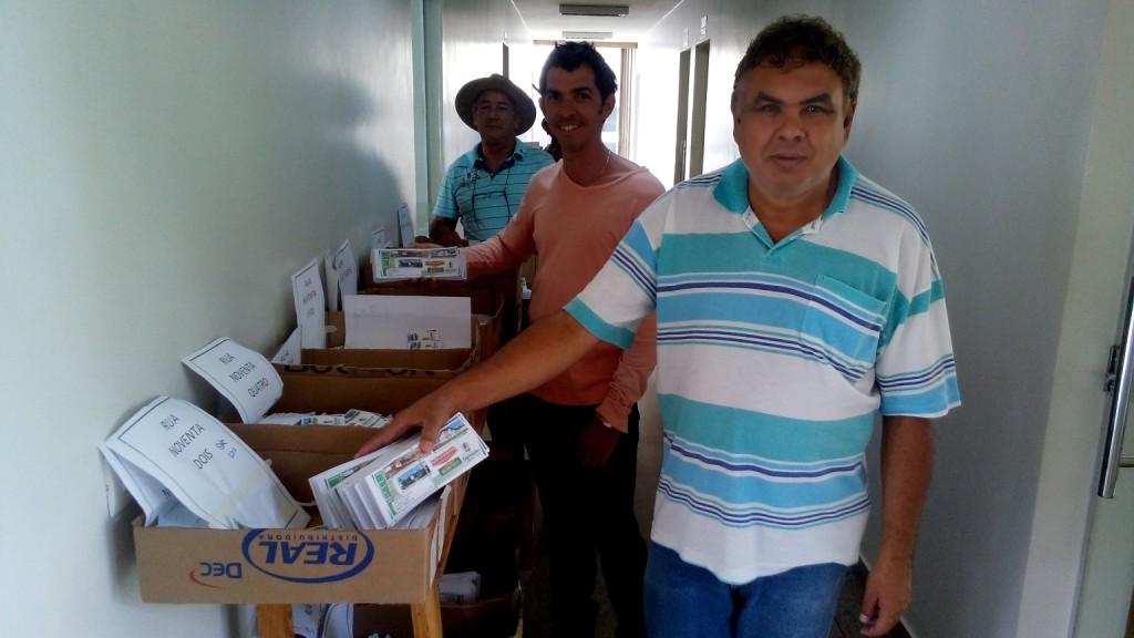 Mais de 6 mil carnês de IPTU começam a ser entregues em casa