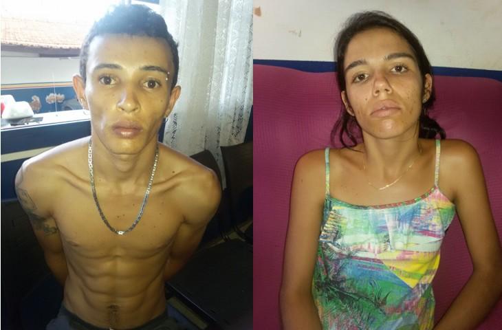 Casal foi preso com grande quantidade de drogas no bairro Brasília