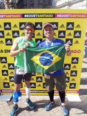 Atleta de Ituiutaba participa de maratona em Santiago no Chile