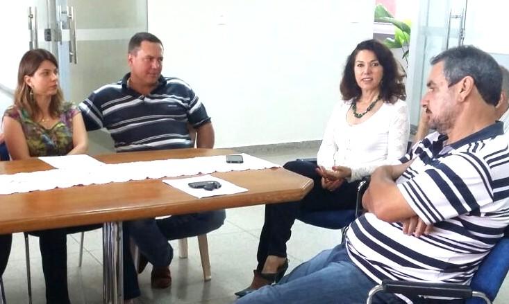 (Esq) Érica e Roberto Garcia, Dinair Isaac e Jorge Jacob