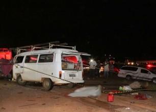 Motorista de caminhão envolvido em acidente na BR-497 com kombis é indiciado
