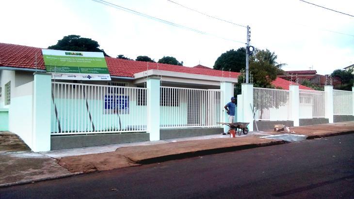 Unidade de saúde do bairro Semírames