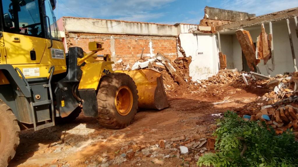 Local onde será construído o novo prédio da Secretaria de Educação