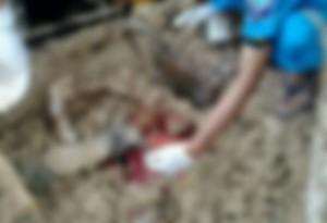 Homem tinha 42 anos e morreu após cair triturador
