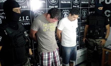 Polícia Civil prende assaltantes que furtaram R$ 310 mil de banco
