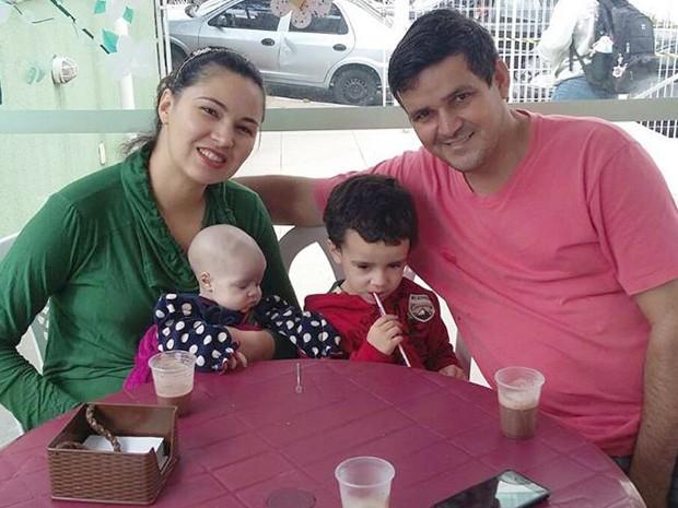 Família compartilhou noviddade nas redes sociais (Foto: Reprodução / Facebook)