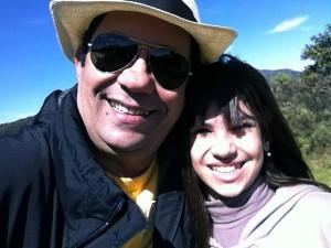 Luiz Barreto e a mulher, Eliana, acusada de mandar matá-lo