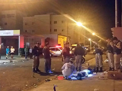 PM registra duplo homicídio próximo a posto no Universitário