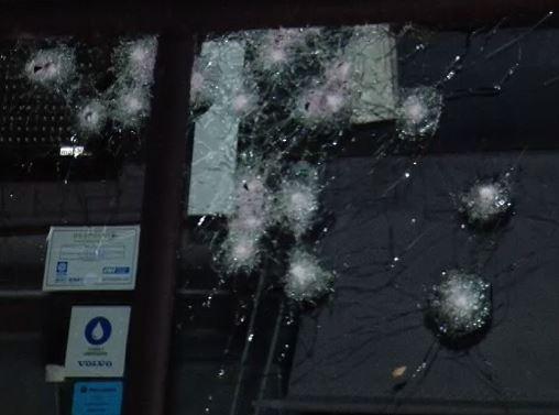 Policial atira e desfigura rosto de bandido durante assalto a ônibus na BR-365