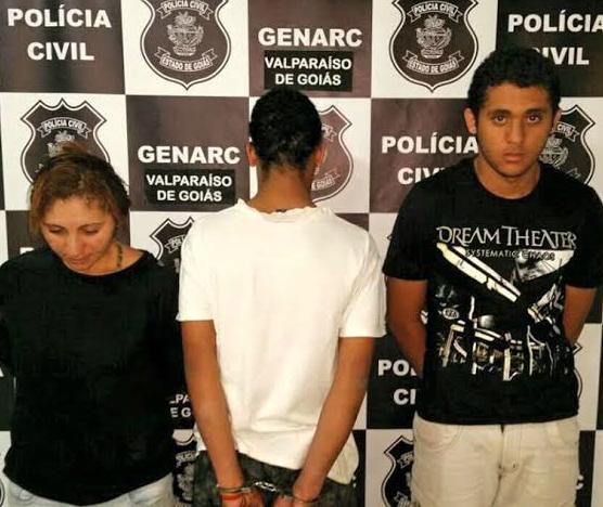 Mãe e filho são presos em Goiás
