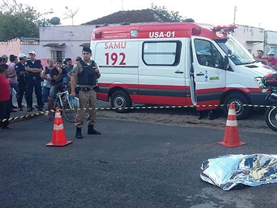 Pintor morre após levar choque e cair de edificação  - Foto/Jairo Chagas