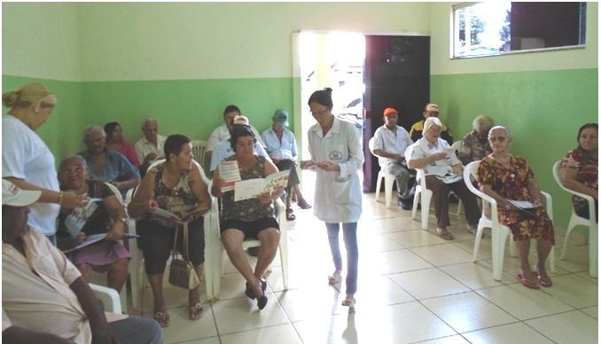 PSF São João atua com palestras para hipertensos e diabéticos