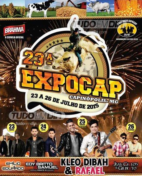 Programação da Expocap 2015