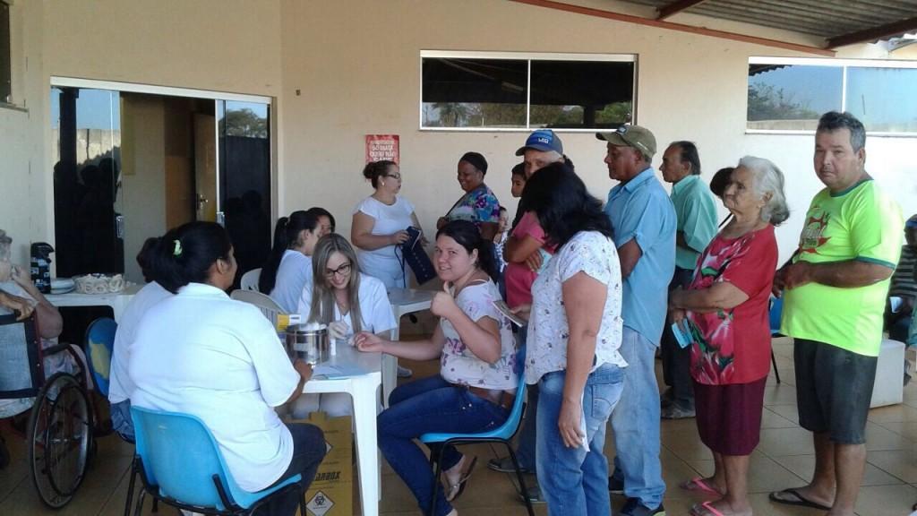 PSF Ideal recebe grupo de Hiperdia em Capinópolis