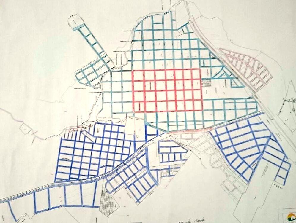 Mapa Coleta Lixo em Capinópolis