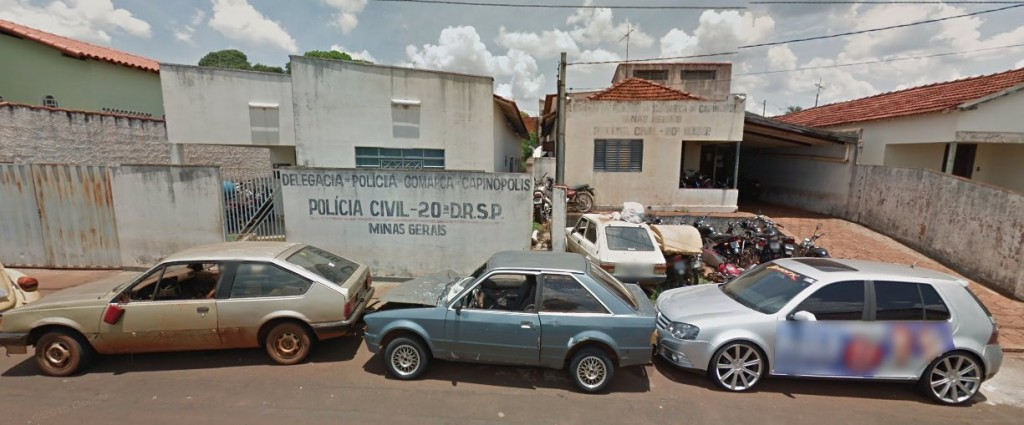 foto: Arquivo / pátio da cadeia pública em 2014