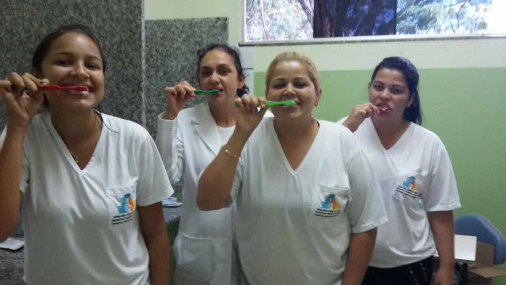 Saúde Bucal é trabalhada pela equipe do PSF São João