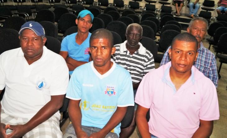 Integrantes da associação Quilombola Teodoro