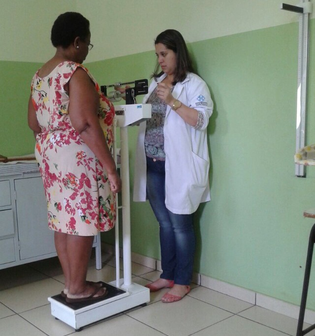 PSF São João recebe grupos para discutir obesidade