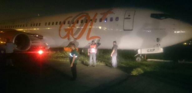 Avião da Gol derrapa na pista e aeroporto Santos Dumont, no Rio, é fechado