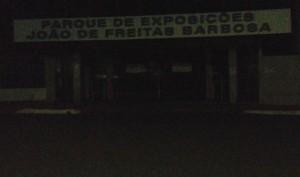 Entrada do parque de Exposições João de Freitas Barbosa em Capinópolis
