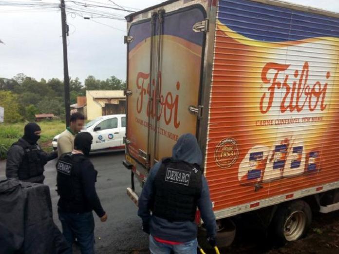 Caminhão da Friboi