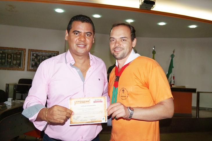 (Esq) Ivo Américo e Vinícius Marcos