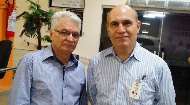 (Esq) Mário Flabes e Gerson Sebastião